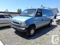 Make Ford Model E250 Year 2000 Colour blue kms 161000