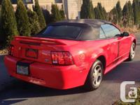 Make Ford Model Mustang Year 2000 Colour RED kms