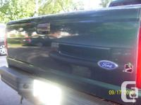 2000 green ford ranger tailgate, excellent condition.