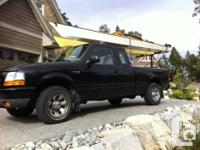 Make Ford Model Ranger Year 2000 Colour Black kms