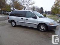 Make Ford Model Windstar Year 2000 Colour Silver kms
