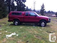 Looking to sell my 2000 GMC Sonoma 4x4 extended cab. It