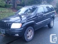 Make. Jeep. Version. Grand Cherokee. Year. 2000.