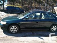 Honda Accord 2000 Four Cylinder 156K miles and rolling