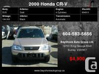 Check out our website for more pics     2000 Honda CR-V