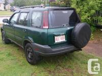 Make Honda Model CR-V Colour Green Trans Automatic kms