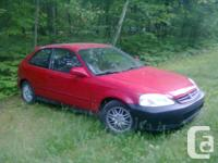 HONDA CIVIC 1.6 AUTOMATIC 2000, Drives extremely nice -