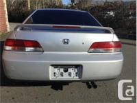Make Honda Model Prelude Year 2000 Colour Silver kms