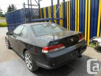 DISMANTLING: 2000 HONDA PRELUDE  PARTS WILL FIT:
