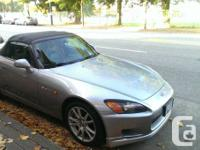 2000 Silverstone Silver Honda S2000 177,XXXkms, local for sale  British Columbia