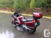 Reliable Sport Touring bike for across the country or