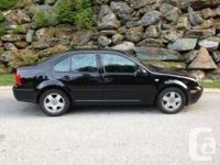 Buying my Black 2000 Volkswagen Jetta.  Attributes:.