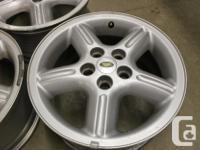 Set of 5 LRII Aluminum Wheels - OEM 2000 Land Rover