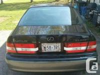 Make Lexus Year 2000 Colour Black/Silver Trans