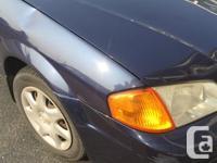 Make Mazda Model Protege Year 2000 Colour Navy kms