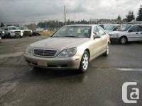 Year: 2000  Make: Mercedes-Benz  Model: S-Class  Trim: