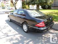 Make Mercedes-Benz Model S500 Year 2000 Colour Black