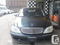Make Mercedes-Benz Model S-Class Year 2000 Colour navy, used for sale  British Columbia