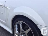 White 2000 ford mustang gt 140000klms!! Orginal  Cobra