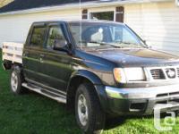 Make. Nissan. Design. Frontier 4WD. Year. 2000.