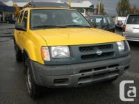 Year: 2000  Make: Nissan  Model: Xterra  Trim: SE 4WD