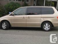 2000 Odyssey. Local Car in excellent conditions, you