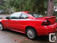 Make Pontiac Model Grand AM Year 2000 Colour Red kms