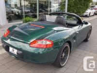 Make Porsche Model Boxster Year 2000 Colour Green kms