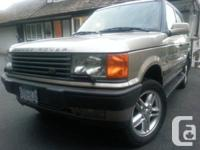 Very well maintained Range Rover 4.6 HSE in Excellent