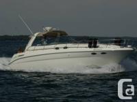 2000 Sea Ray 380 Sundancer in spotless health