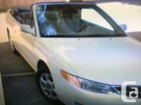Make Toyota Model Solara Year 2000 Colour Pearl white