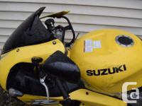 2000 SUZUKI TL 1000 R Great project bike. Priced