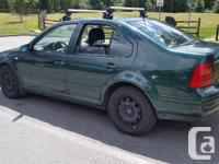Make Volkswagen Model Jetta Year 2000 Colour Green