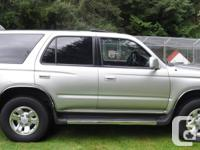 Make Toyota Model 4Runner Year 2000 Colour Silver kms