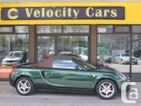Make Toyota Model MR2 Spyder Year 2000 Colour Green