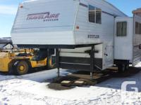 Perfect unit for pulling tandem has rear hitch and
