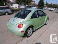 Make Volkswagen Model Beetle Year 2000 Colour Green