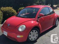 Make Volkswagen Model Beetle Year 2000 Colour red kms