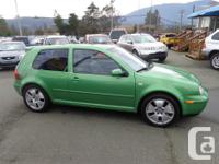 Make Volkswagen Model Golf GTI Year 2000 Colour green