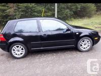 Make Volkswagen Model Golf GTI Year 2000 Colour black