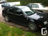So I'm selling my 2000 VW Jetta, Standard, 145xxx KM,