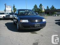 Year: 2000. Make: Volkswagen. Design: Passat. Trim