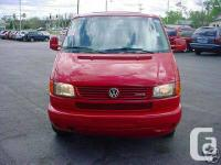 A terrific condition Eurovan, RED in colour ready for