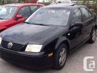 For sale 2000 VW JETTA GLS , 2.0 4 cylinder engine ,
