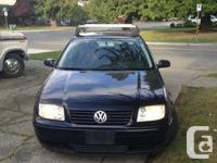 2000 VW Jetta. 4 dr, 1.9 TDI, automatic, full load.