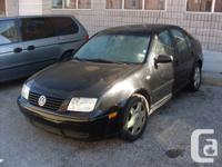 2000 VW JETTRA VR6 ``CERT AND ETESTED``  BLACK, AUTO,