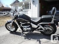 2000 VZ 800 Suzuki Marauder. In excellent condition.