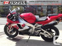2000 Yamaha YZF-R1 Sport Motorcycle * Low kms!! * for sale  British Columbia