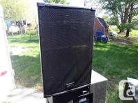 For sale is a pair of Peavey SP2 full range, passive PA