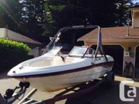 2001 Chaparral bow rider.  4.3 liter 200 HP Chev with